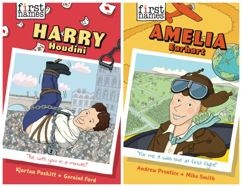 Abrams Announces New Middle Grade Biography Series 'First Names'