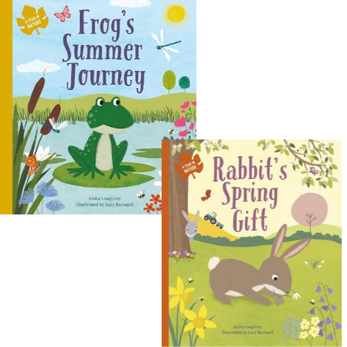Frog's Summer Journey/Rabbit's Spring Gift