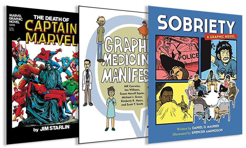 """Graphic Medicine"" Comics & Graphic Novels Explore Illness and Healthcare"