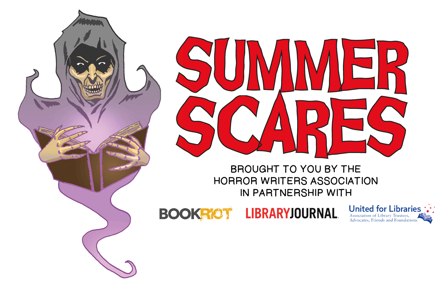 Horror Writers Association, SLJ, & Partners Announce Second Annual Summer Scares Reading Program