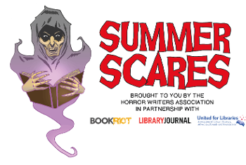 Summer Scares logo with ghoul