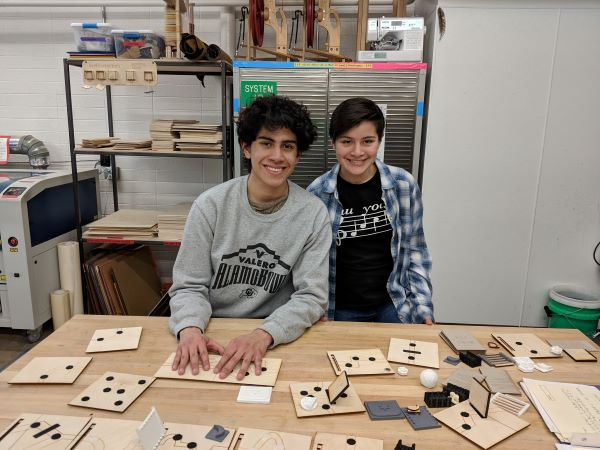 Colorado Teens Use Makerspace To Create Accessible Board Games