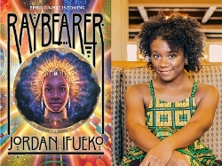 Raybearer cover and Jordan Ifueko