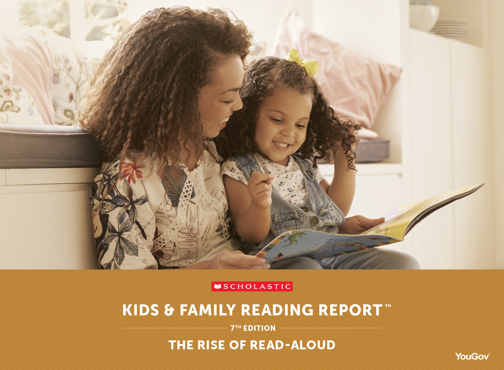 New Research from Scholastic on Reading Aloud