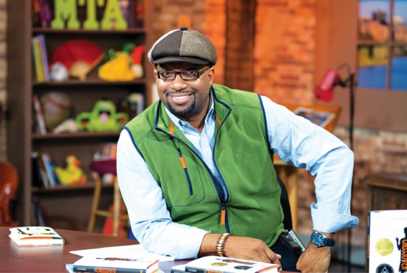 Kwame Alexander and Follett Partner in Literacy Campaign