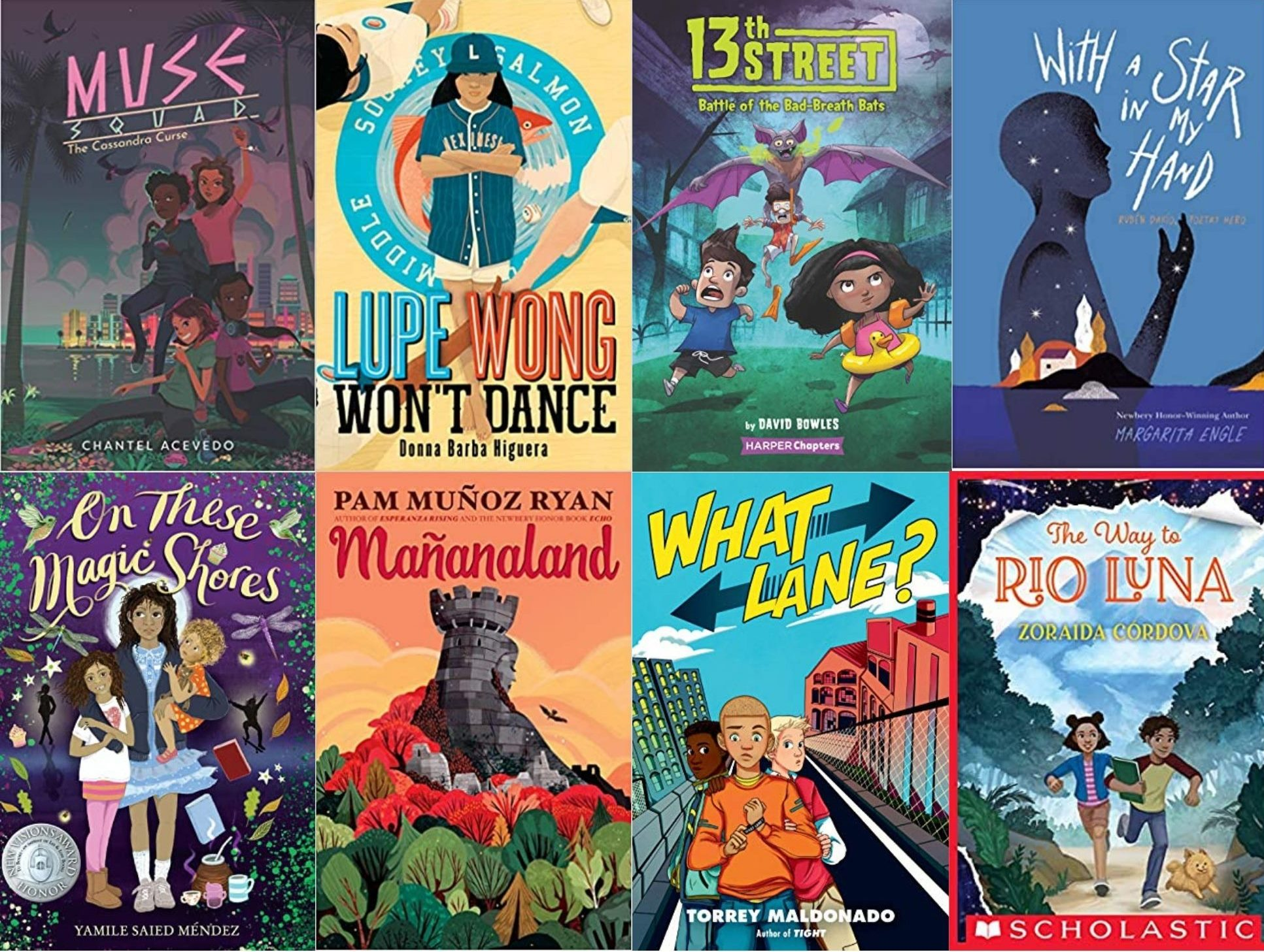 22 Latinx Middle Grade Titles Filled with Magic, Found Family, and More
