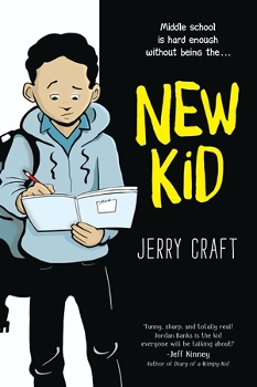 Book cover for New Kid by Jerry Craft