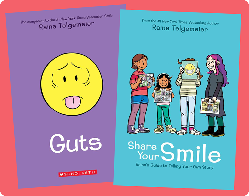 Graphix Announces New Raina Telgemeier Books