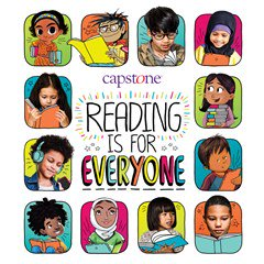 Capstone Launches #ReadingIsForEveryone