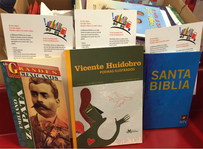 REFORMA Leads Efforts To Get Books to Migrant Children