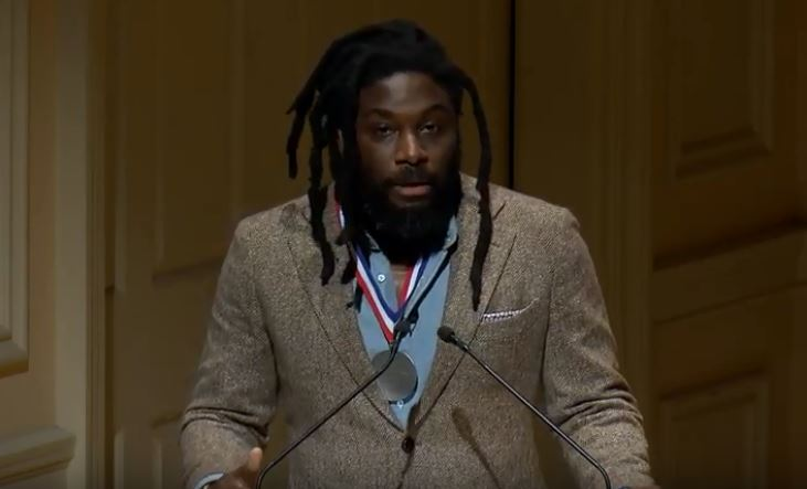 Jason Reynolds Officially Becomes National Ambassador of Young People's Literature at Library of Congress Ceremony