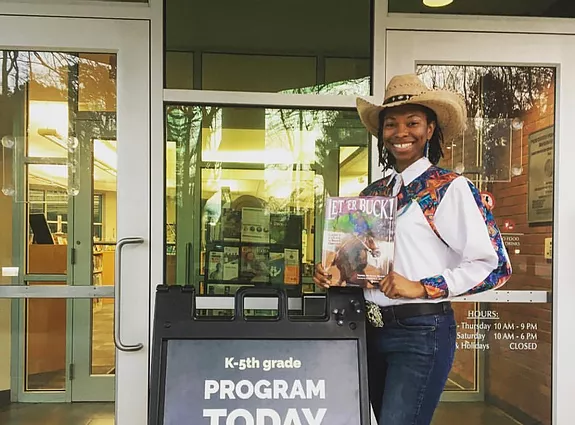 Saddle Up and Read Initiative Brings Books and Horseback Riding to Kids