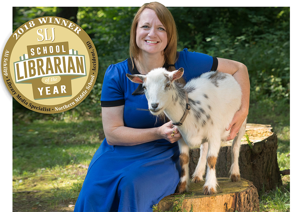 Appalachian Trailblazer: Ali Schilpp, SLJ's 2018 School Librarian of the Year