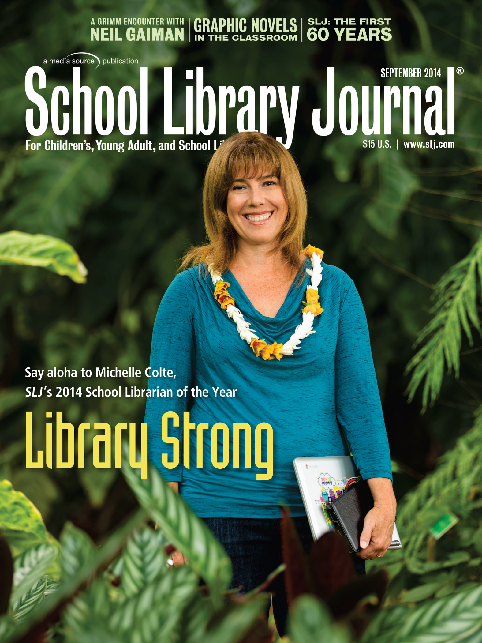 Meet Michelle Colte, SLJ's 2014 School Librarian of the Year