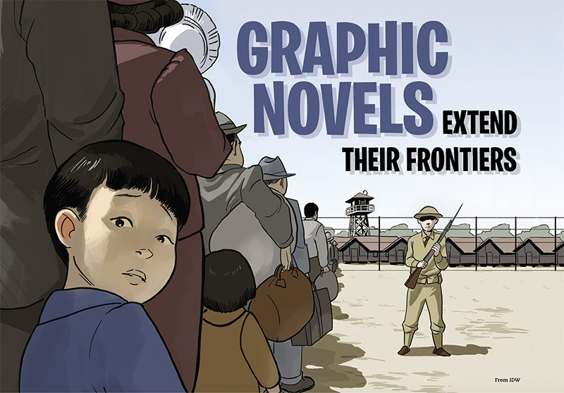 Graphic Novels Extend Their Frontiers