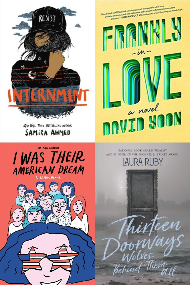 A Peek at the SLJTeen Live! Books