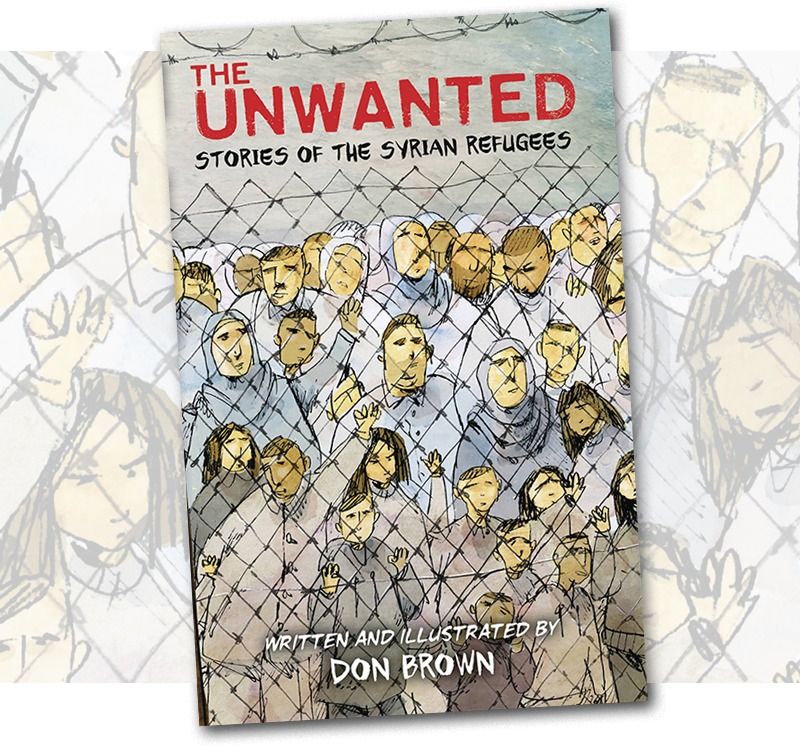 Stories of Syrian Refugees: Don Brown's