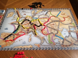 Image of the board game Ticket to Ride