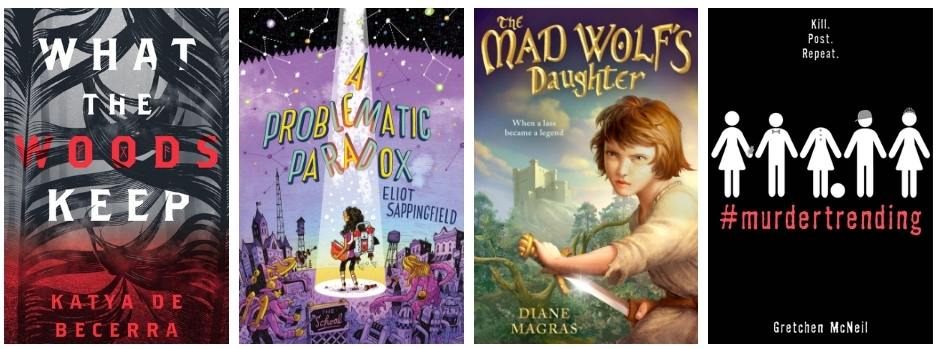 Tweens & Teens Review Girl-Powered Middle Grade & Thrilling YA