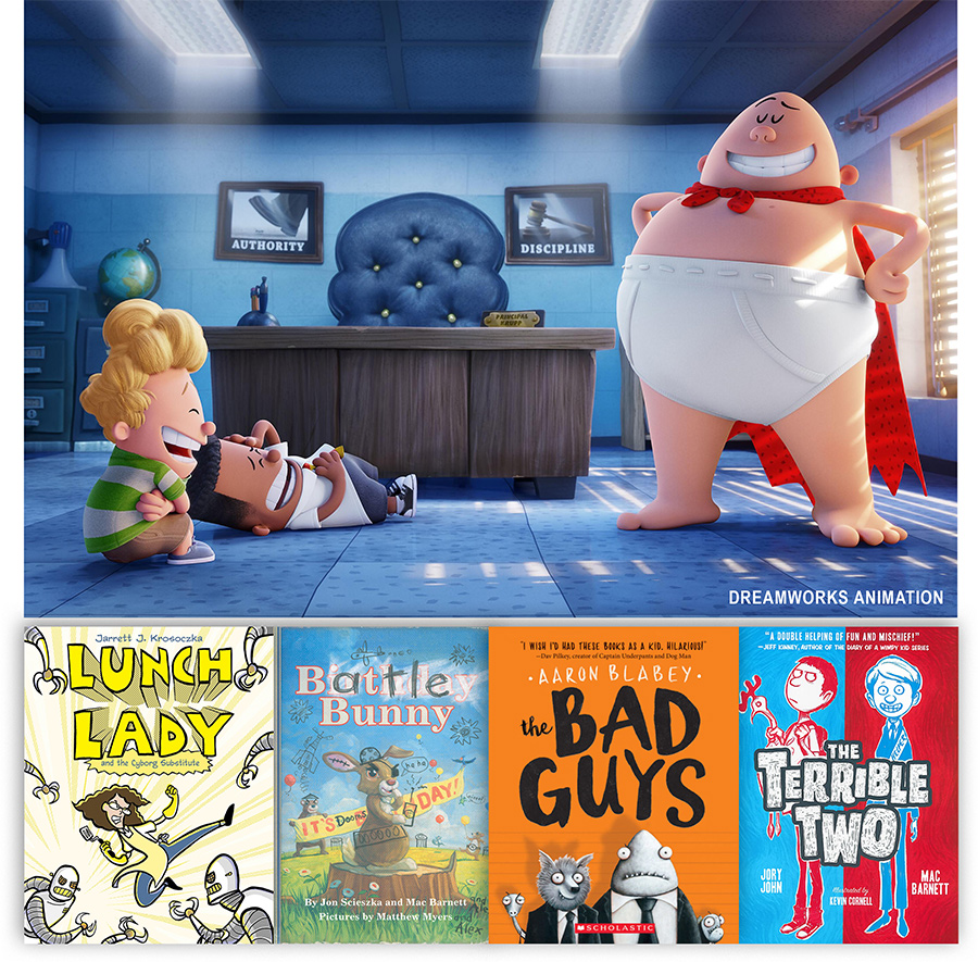 Tween Read-alikes: Books for kids who like these shows and movies