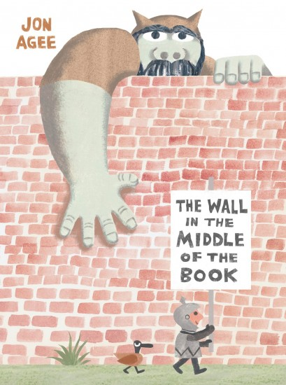 Exclusive Book Trailer Premiere: The Wall in the Middle of The Book by Jon Agee