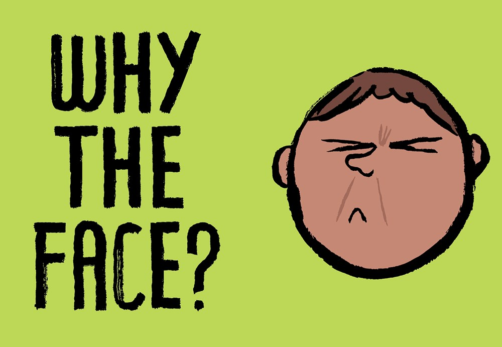 Review: Why the Face? by Jean Jullien