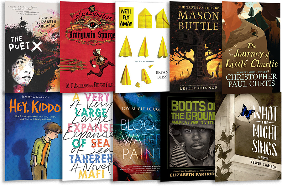 SLJ's Reviews of the 2018 National Book Award Longlisters