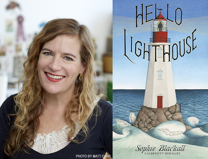 'Hello Lighthouse' Makes Sophie Blackall Two-Time Caldecott Winner