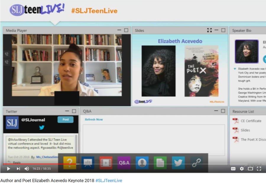 WATCH: National Book Award Finalist Elizabeth Acevedo Talks About Representation in YA Lit