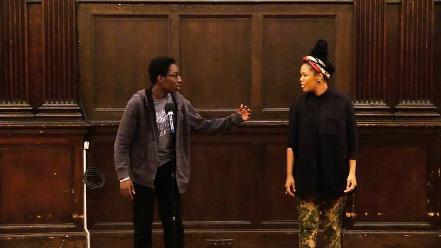 Chance the Rapper, Langston Hughes, and Creative Self-Expression Inspire Teens in Newark Library's Spoken Word Workshop