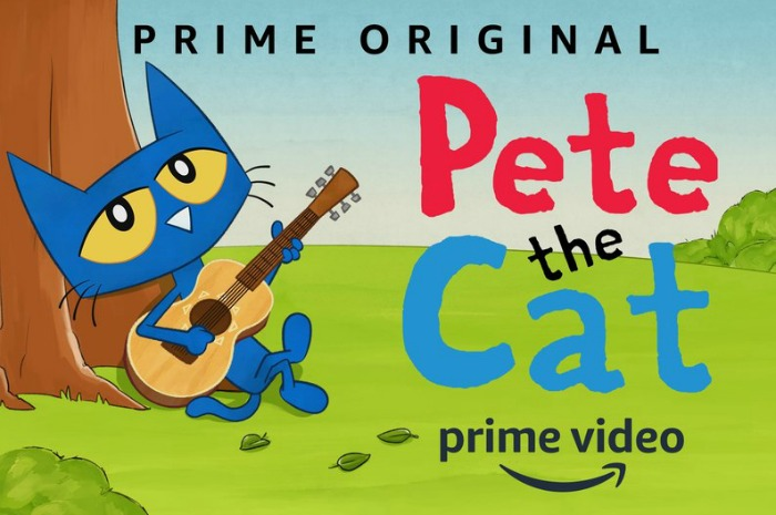 Books on Film: Pete the Cat Comes to Amazon Prime