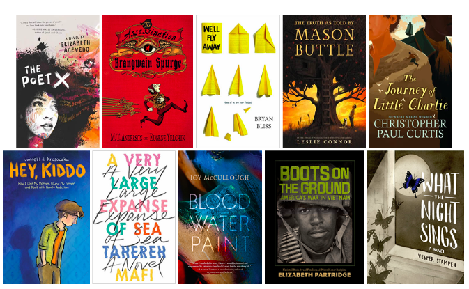 A Look at the National Book Awards Longlist