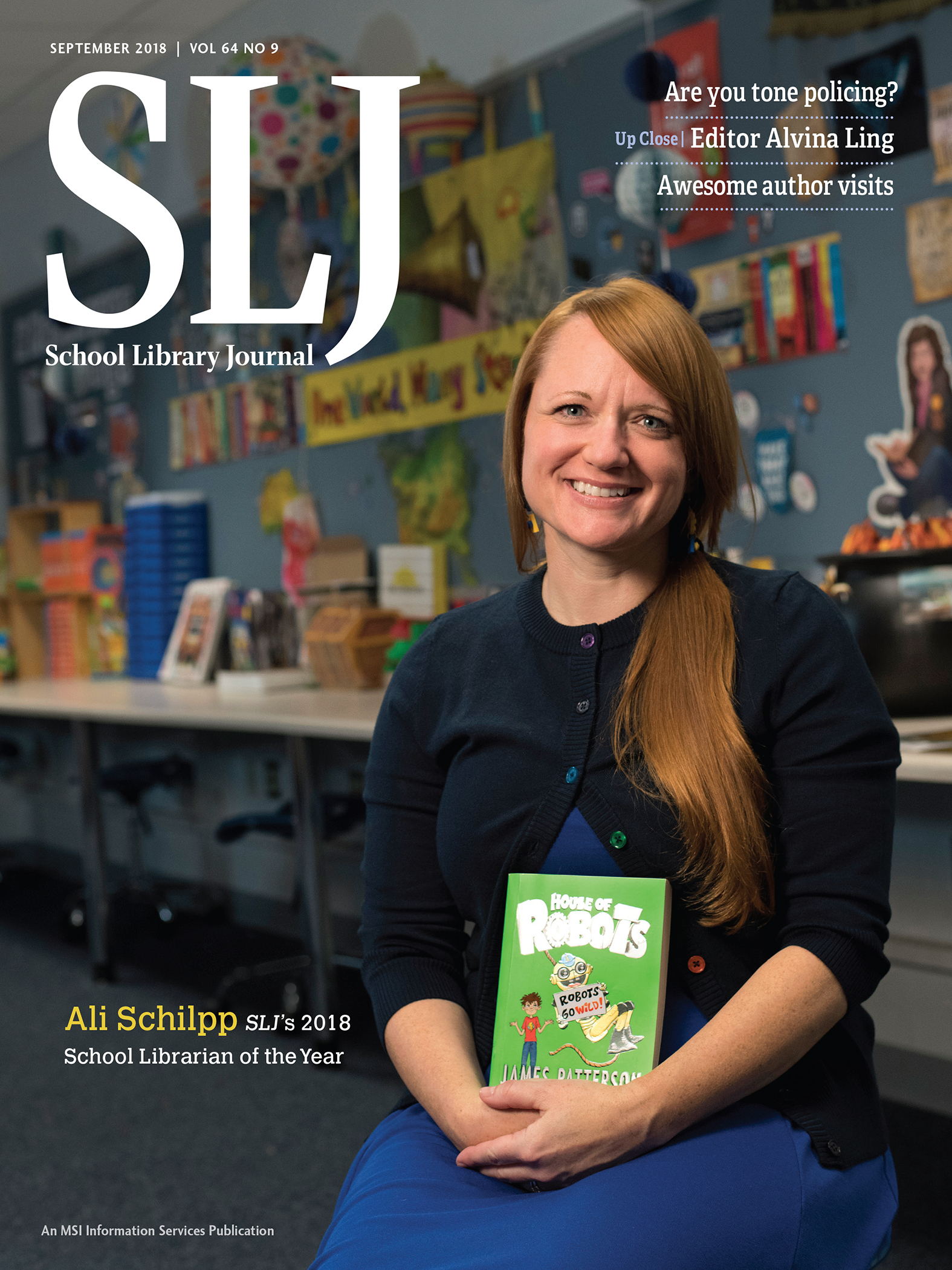 SLJ Names 2018 School Librarian of the Year